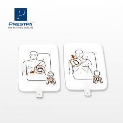 Electrodes Adulte/Enfant UltraTrainer PRESTAN