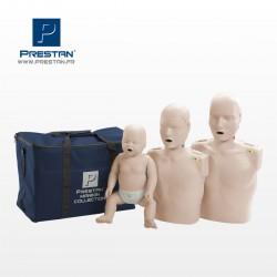 Pack Famille de 3 Mannequins (Adulte-Enfant-Nourrisson)