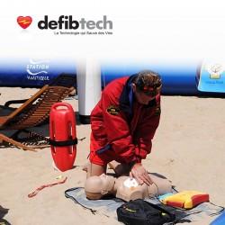 Défibrillateur de formation Lifeline DEFIBTECH
