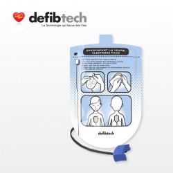 Electrodes Pédiatriques DEFIBTECH
