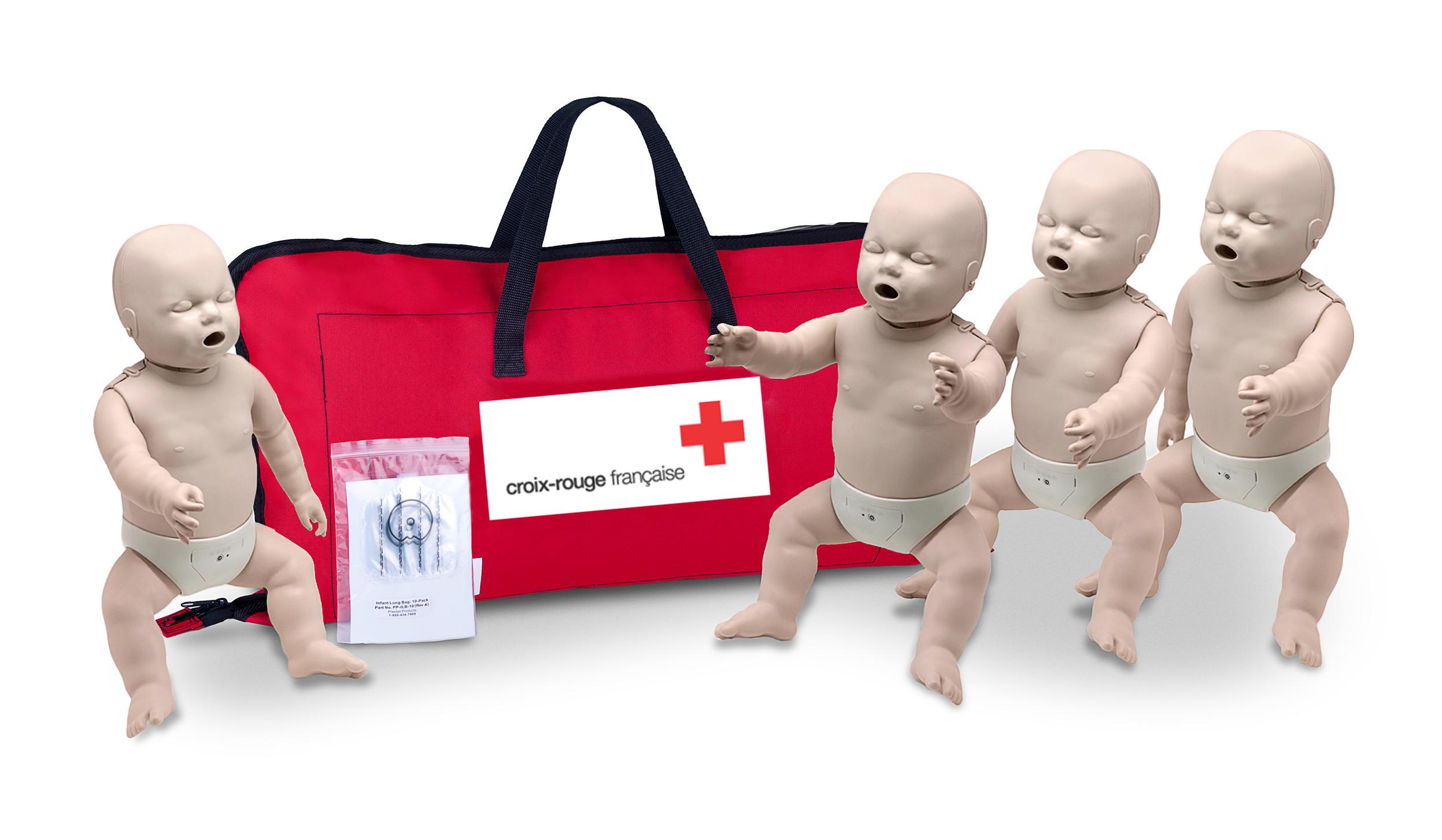 Mannequins Prestan pour la Croix-Rouge