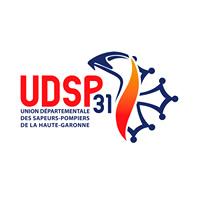 Logo de l'Union départementale des Sapeurs-Pompiers de Haute Garonne