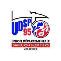 Logo de l'Union départementale des Sapeurs-Pompiers du Val d'Oise